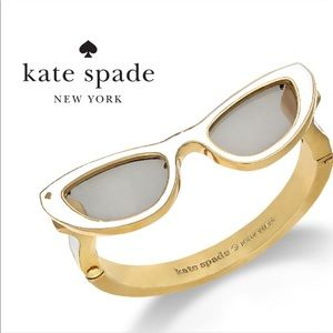 Kate Spade In The Shade 12k Gold Sunglasses Bangle